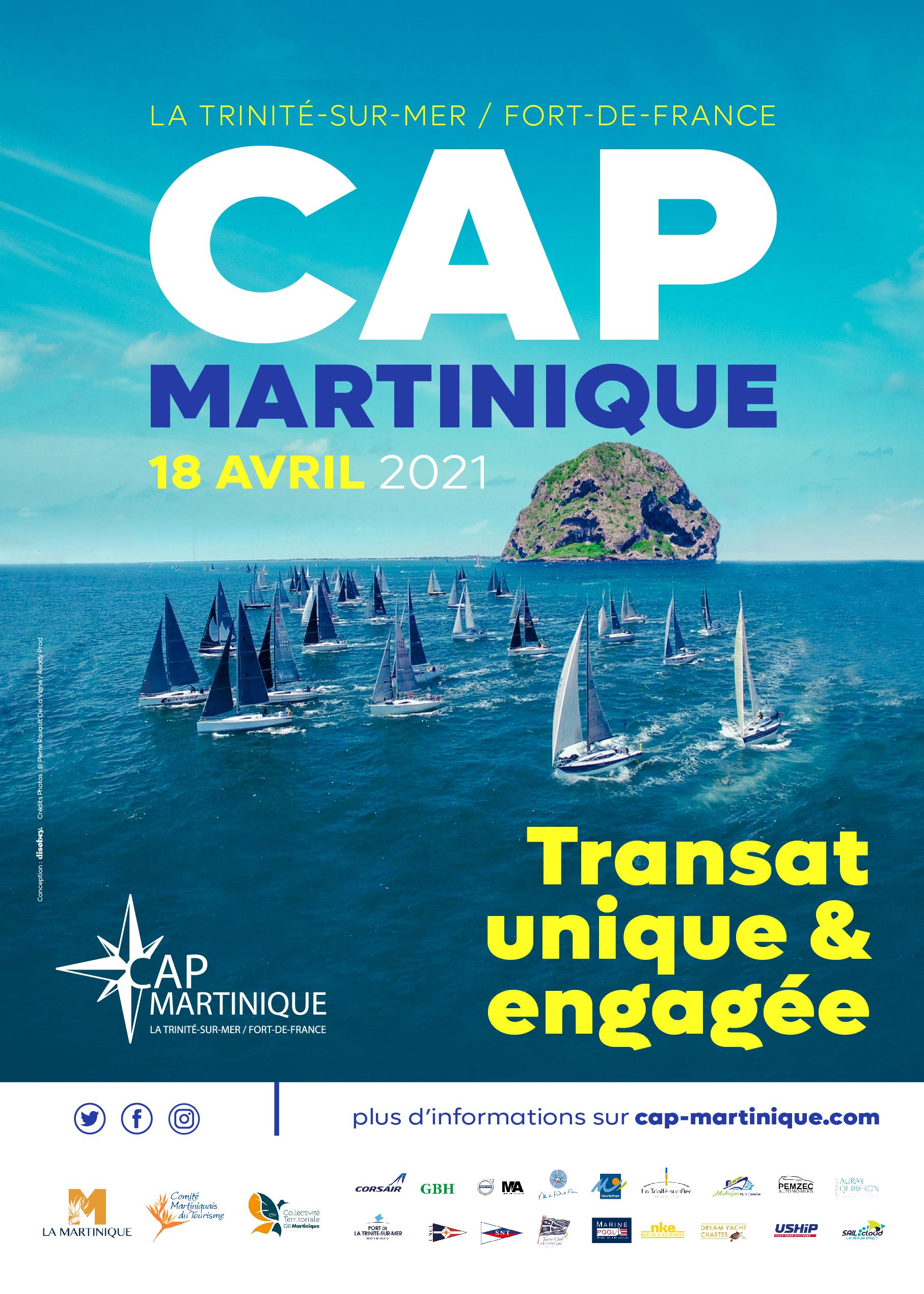 Affiche Cap Martinique 2021